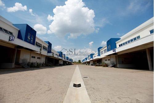 galpão comercial para locação, distrito industrial, jundiaí. - ga0023