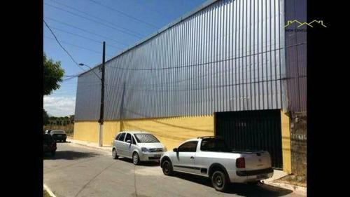 galpão comercial para locação, guaranhuns, vila velha. - ga0048