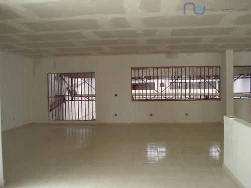 galpão comercial para locação, parque da mooca, são paulo. - ga0141