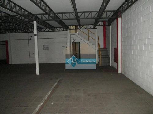 galpão comercial para locação, vila bertioga, são paulo. - ga0032