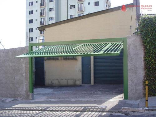 galpão comercial para locação, vila do encontro, são paulo - ga0021. - ga0021