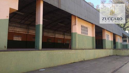 galpão comercial para locação, vila galvão, guarulhos - ga1277. - ga1277