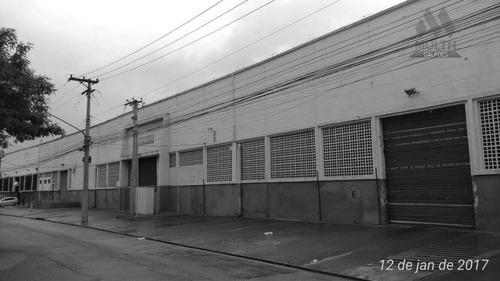 galpão comercial para locação, vila leopoldina, são paulo. - ga0371