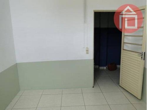 galpão comercial para locação, vila municipal, bragança paulista - ga0004. - ga0004