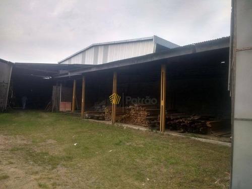 galpão comercial para venda e locação, batistini, são bernardo do campo. - ga0199