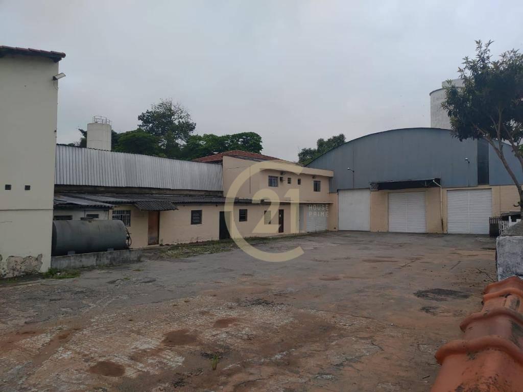 galpão comercial para venda e locação,  galpão 200m², escritório 100m², terreno 1.100 m² grande área de manobra no jaguaré - ga0164