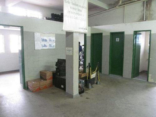 galpão comercial à venda, vila alzira, são paulo. - ga0045