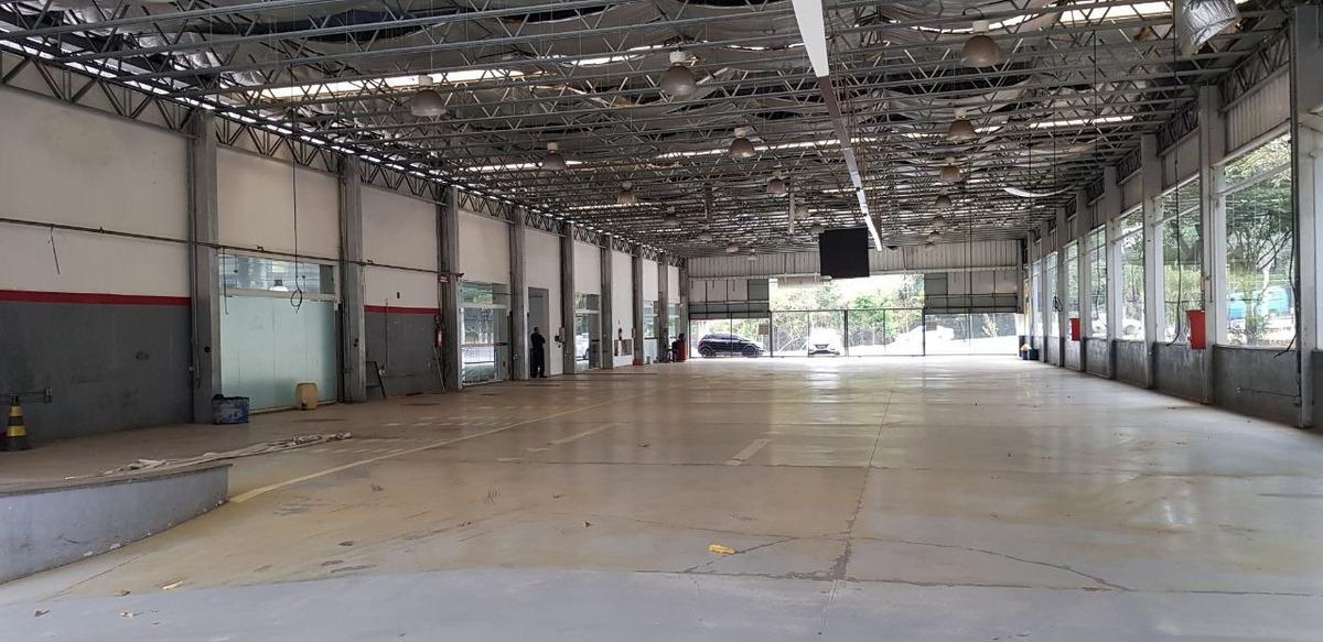 galpão de 4.742 m² na região da pampulha. - 3396