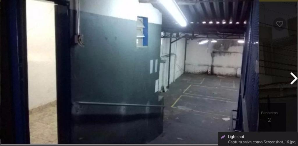 galpão em ipiranga, são paulo/sp de 300m² para locação r$ 7.500,00/mes - ga483887