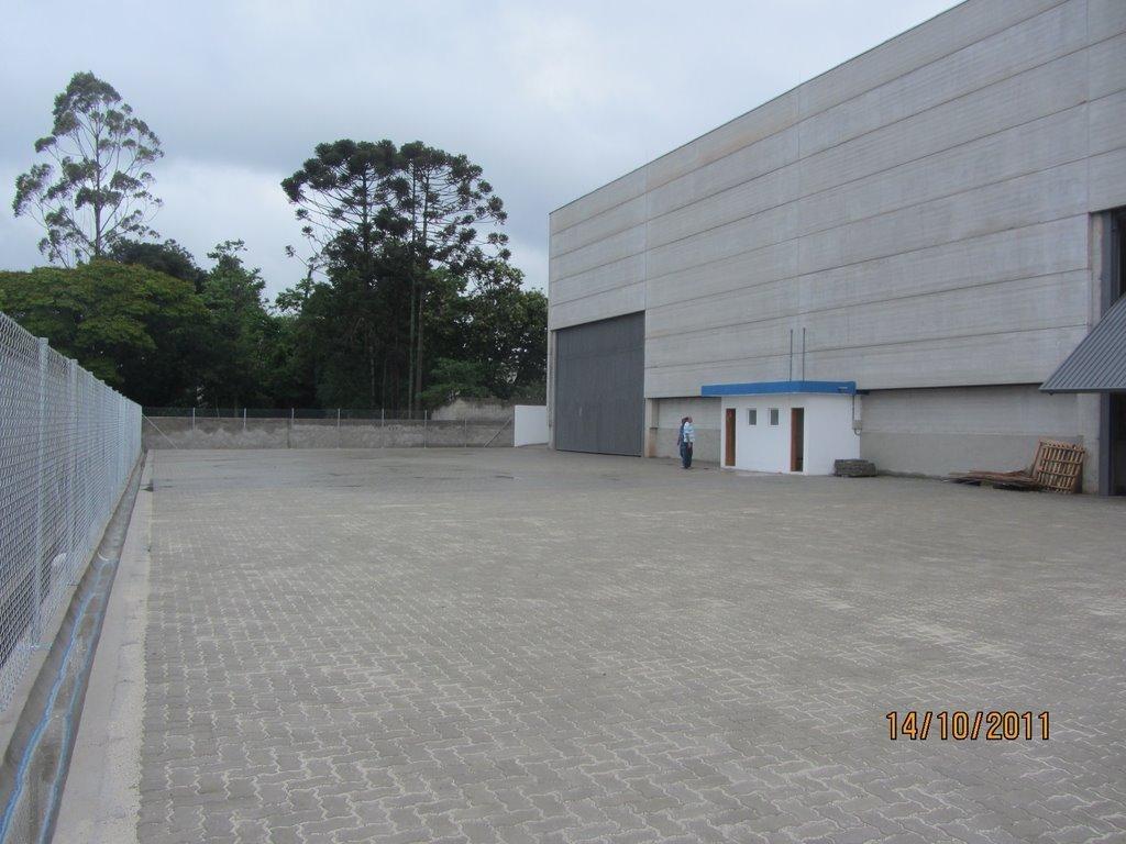 galpão em parque rincão, cotia/sp de 1638m² para locação r$ 35.000,00/mes - ga94680