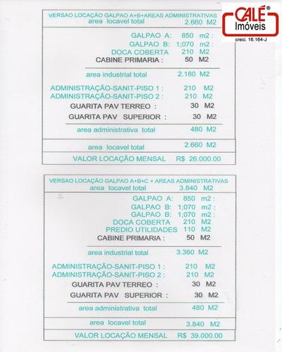 galpão - gl00091 - 31910235