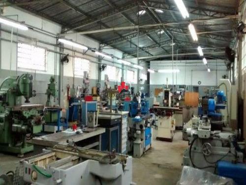 galpão industrial - 1200 m² e 10 vagas, em parque do carmo. - pe22839