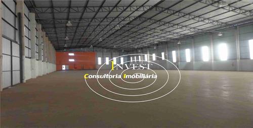 galpão industrial 2.238.90m² (cod 1326) locação