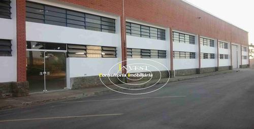 galpão industrial 2.537.78m² (cod 1325) locação