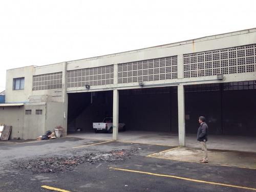galpão industrial 300 m² reformado em são bernardo - 654