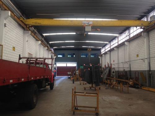 galpão industrial / comercial com trifásico iptu isento 2844