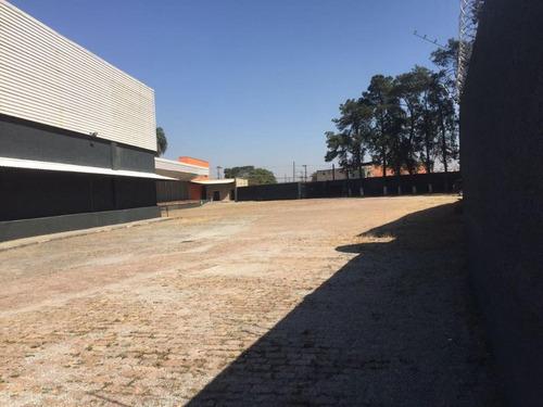 galpão industrial comercial para alugar, 3978 m² por r$ 57.681/mês - , rua erva andorinha, 450 - são miguel paulista - são paulo/sp - ga0275 - ga0275