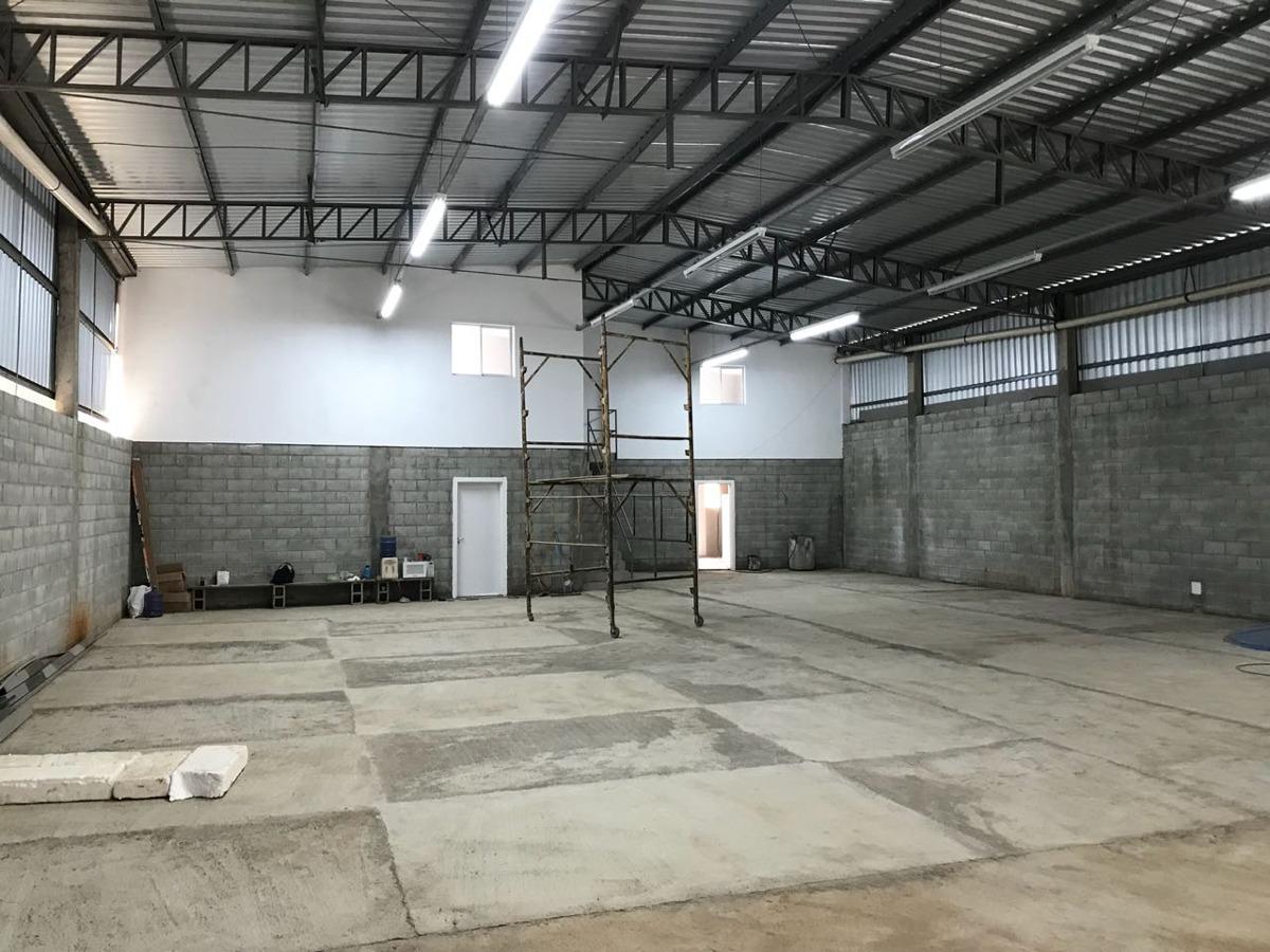 galpão industrial de 465 m² -tratar com boa sorte