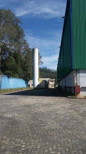 galpão industrial locação, ponte seca, ribeirão pires. - ga0167