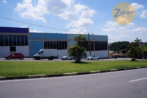 galpão  industrial para locação, centro, vinhedo. - codigo: ga0023 - ga0023