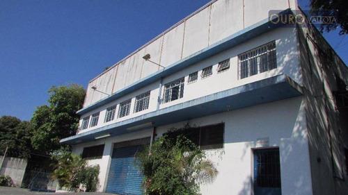 galpão industrial para locação, chácara califórnia, são paulo. - ga0215