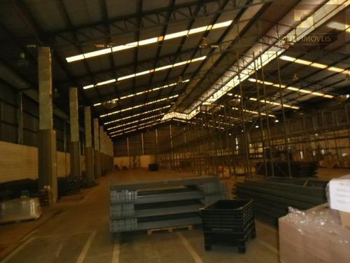 galpão industrial para locação, cidade aracilia, guarulhos. - codigo: ga0048 - ga0048