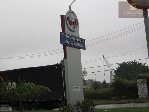 galpão industrial para locação, cidade aracilia, guarulhos. - codigo: ga0058 - ga0058