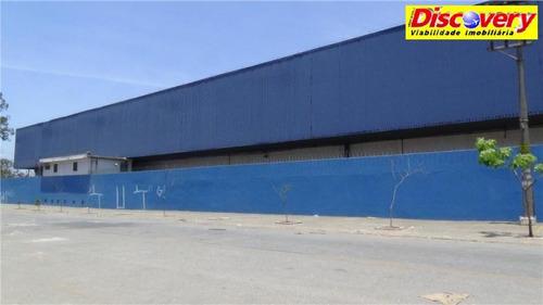 galpão  industrial para locação, cidade industrial satélite de são pa - ga0012