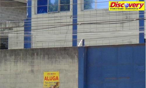 galpão  industrial para locação, cidade industrial satélite de são pa - ga0013