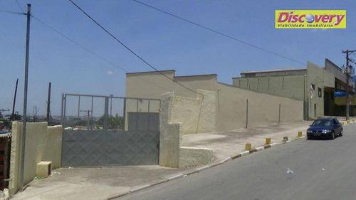 galpão  industrial para locação, cidade industrial satélite de são paulo, guarulhos. - ga0016