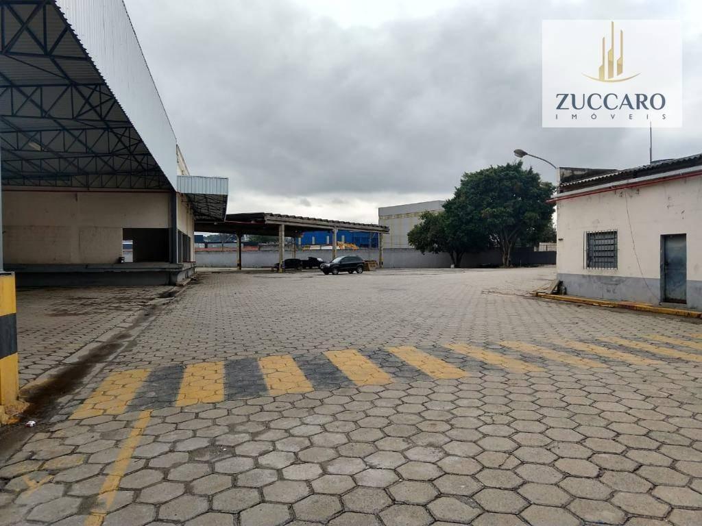galpão industrial para locação, cidade industrial satélite de são paulo, guarulhos - ga1464. - ga1464