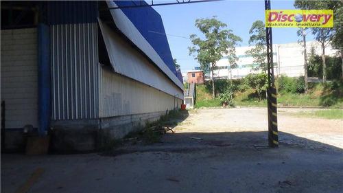 galpão industrial para locação, cumbica, guarulhos. - ga0045