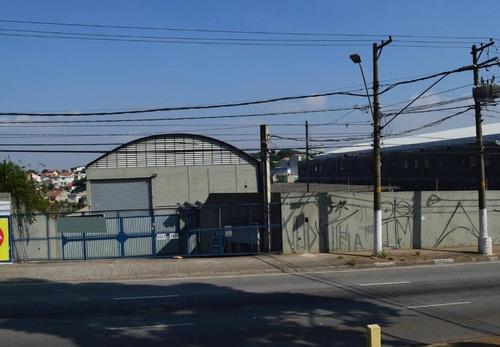 galpão industrial para locação, parque capuava, santo andré. - ga0125