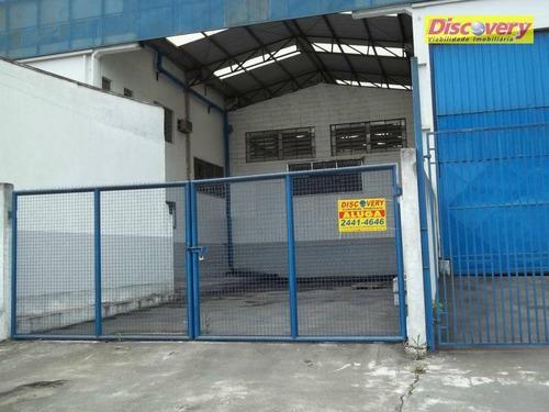 galpão  industrial para locação, parque industrial do jardim são geraldo, guarulhos. - ga0009