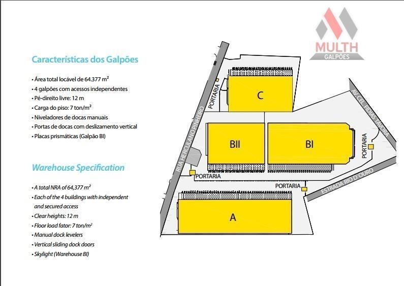 galpão industrial para locação, pavuna, rio de janeiro. - ga0231 - ga0231