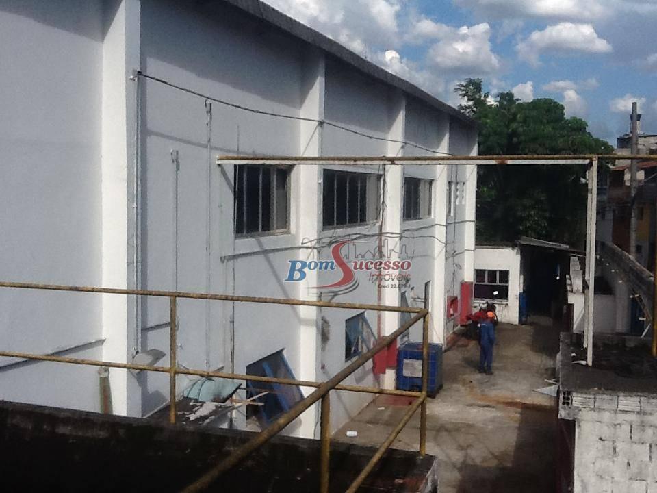 galpão industrial para locação, piraporinha, diadema, são paulo. - ga0219