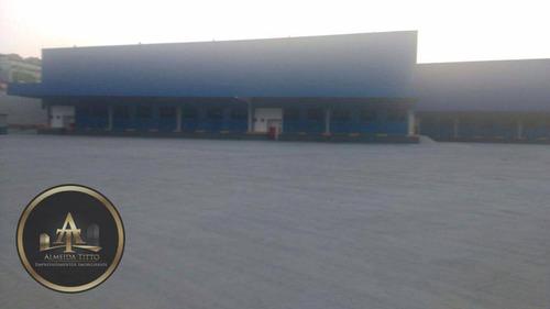 galpão industrial para locação, são luiz (polvilho), cajamar. - ga0019