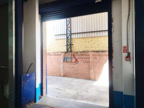 galpão industrial para locação, vila antonieta, são paulo. - ga0186