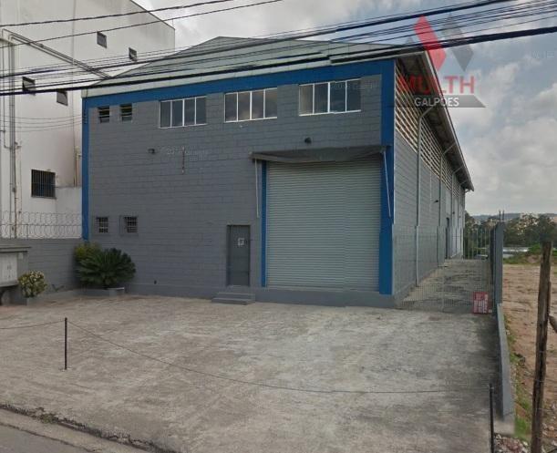galpão industrial para locação, vila jovina, cotia. - ga0250 - ga0250