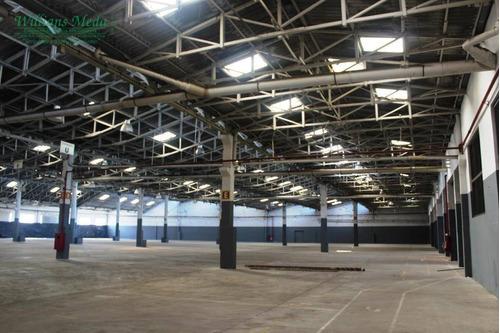 galpão industrial para locação, vila leopoldina, são paulo. - ga0160