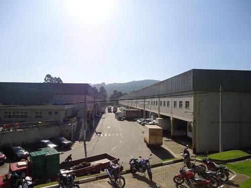 galpão industrial para locação, vila ouro verde, jandira. - ga0272