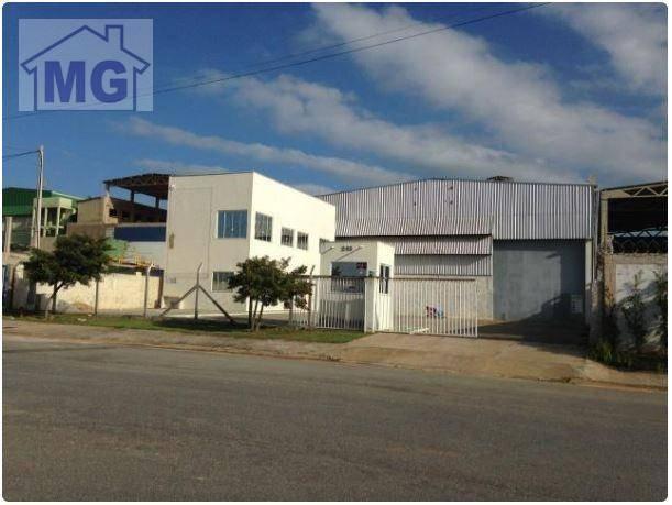 galpão industrial para venda e locação, cabiúnas, macaé - ga0048. - ga0048