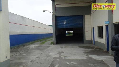 galpão  industrial para venda e locação, parque industrial do jardim são geraldo, guarulhos. - ga0035