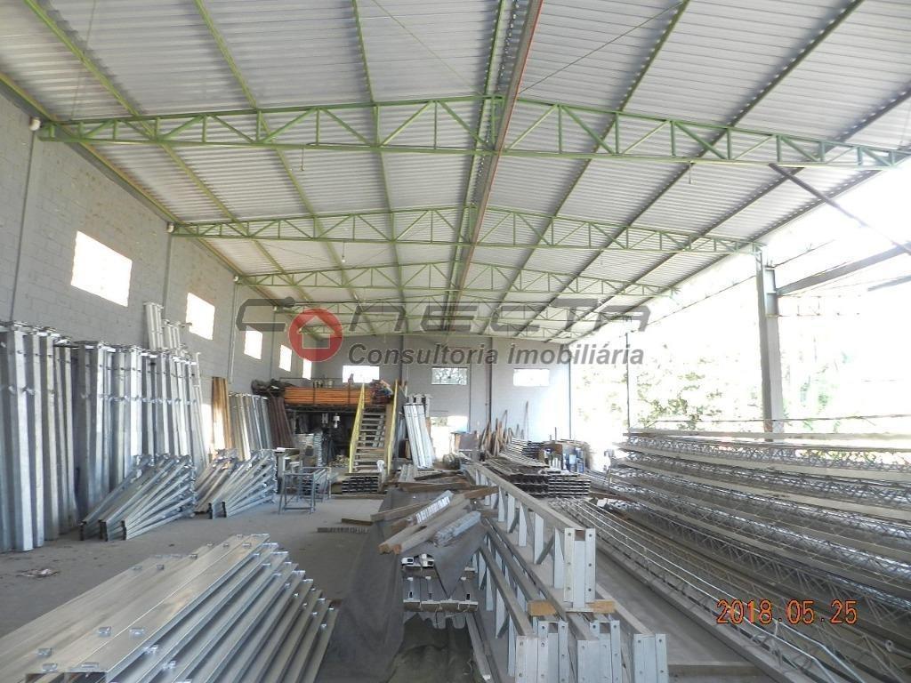 galpão industrial à venda, betel, paulínia. - ga0768