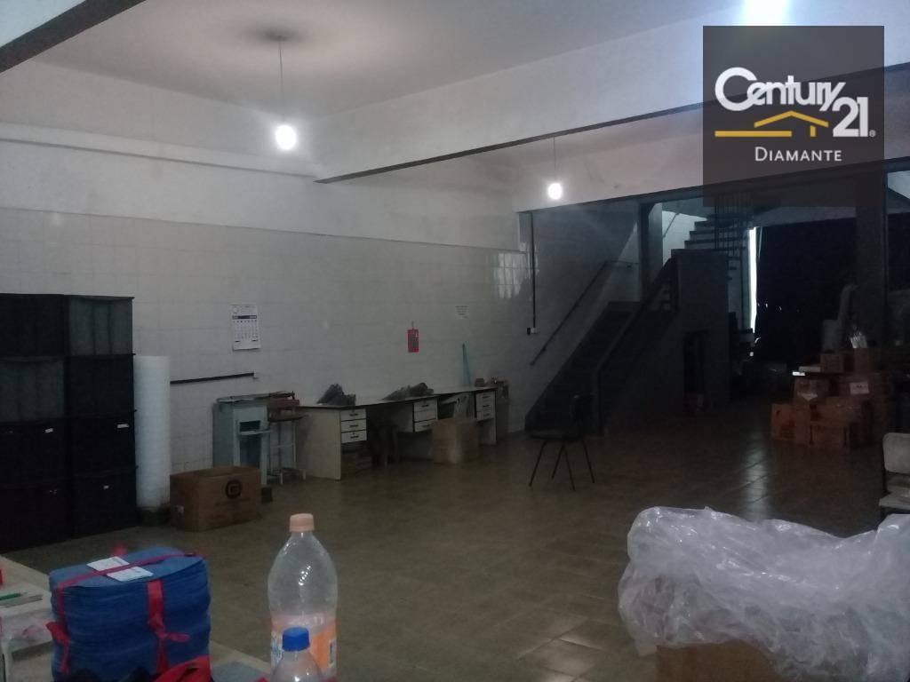 galpão,  já  com renda -  à venda, 579 m² por r$ 2.300.000 - cambuci - são paulo/sp - ga0086