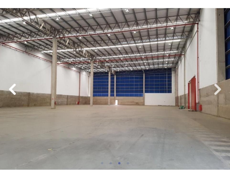 galpão logístico com 5  docas, apenas r$ 15,00 m² - 586_aluguel