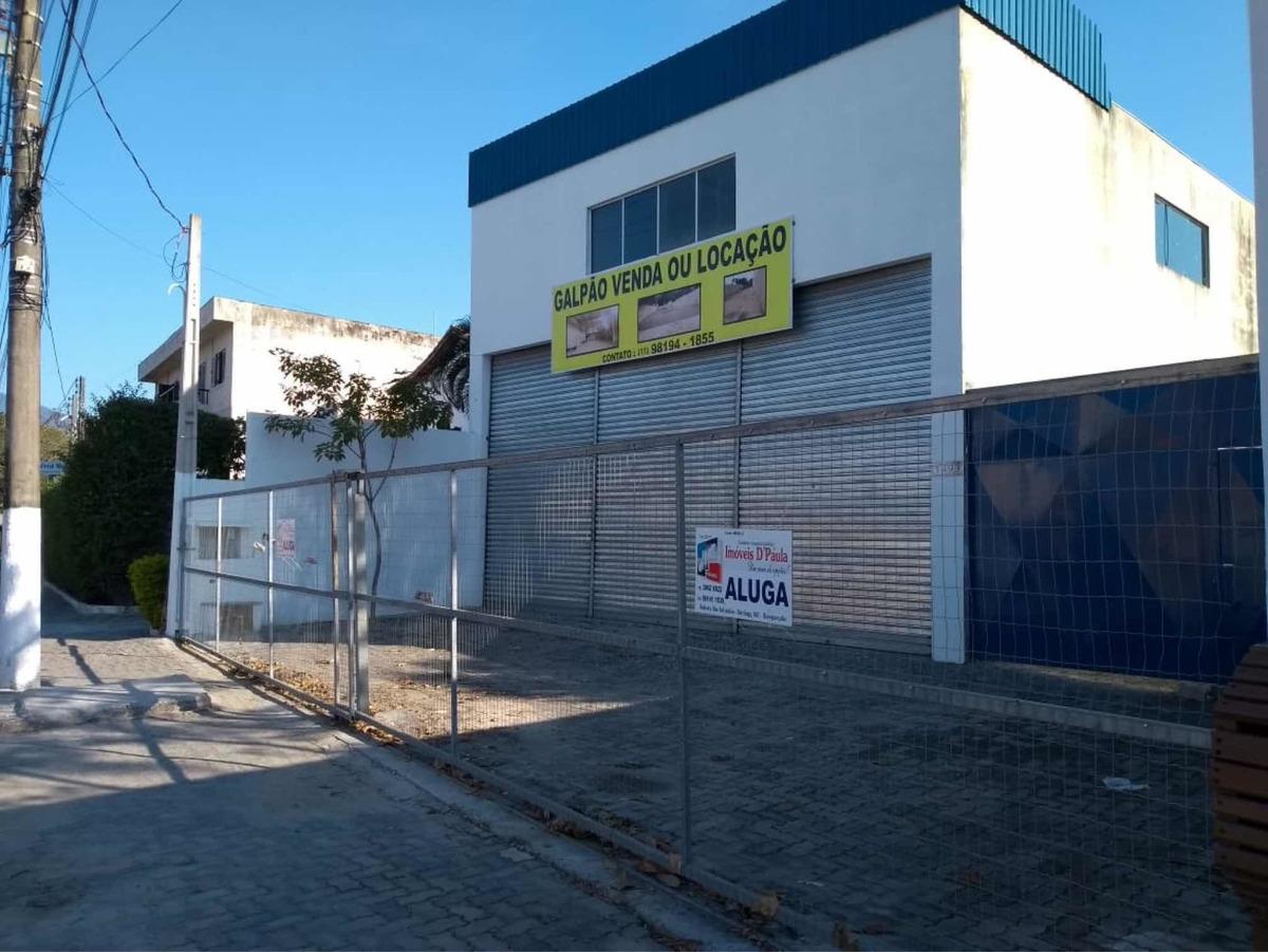 galpão loja imóvel comercial litoral norte sp locação venda