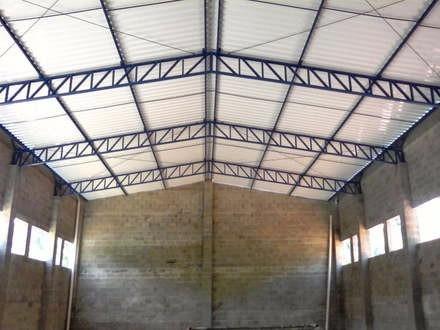 Galpão Metalico, Estrutura Metalica, Mezanino - R$ 115,00