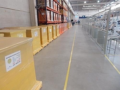 galpão na zona industrial com 2.600 m² de área construída - 175lc