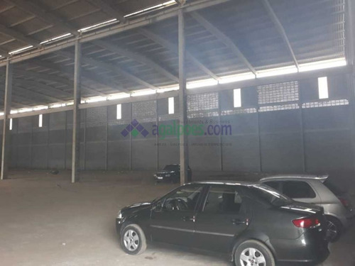 galpão novo com 4.400 m², pé direito 13m na br 101 distrito industrial de joão pessoa - 1429